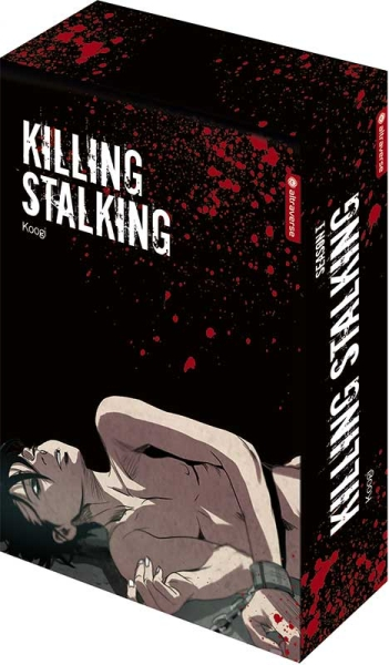 Killing Stalking – Season I Complete Box, Band 01-04