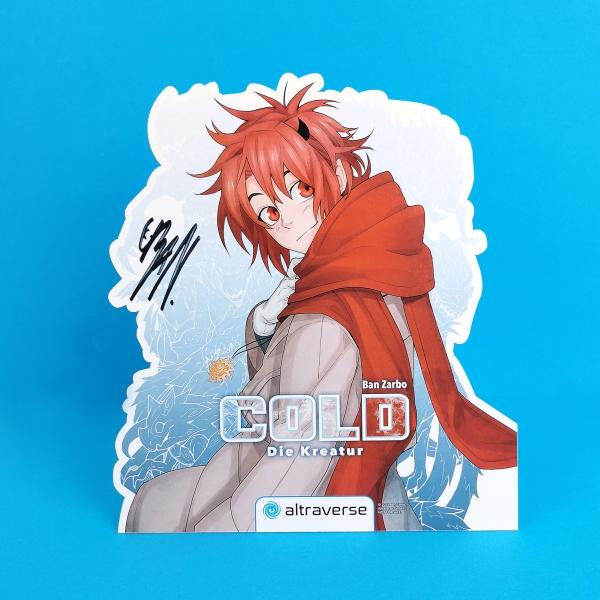 Cold – Die Kreatur Manga-Display (signiert)