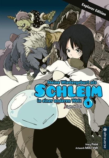 Meine Wiedergeburt als Schleim in einer anderen Welt Light Novel Explorer Edition, Band 01
