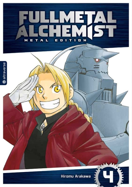 Fullmetal Alchemist Metal Edition, Band 04