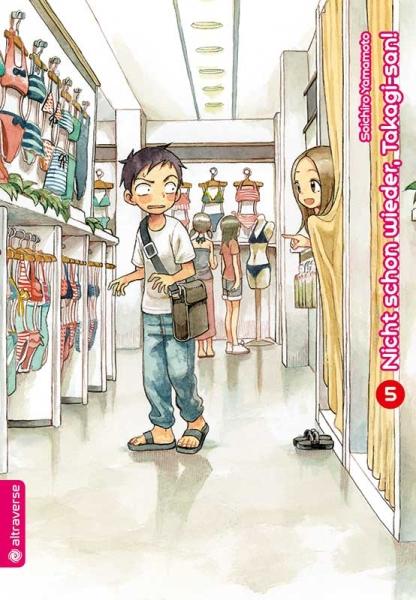Nicht schon wieder, Takagi-san!, Band 05