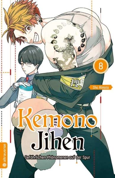 Kemono Jihen – Gefährlichen Phänomenen auf der Spur, Band 08
