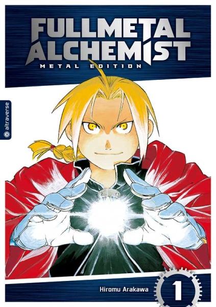 Fullmetal Alchemist Metal Edition, Band 01
