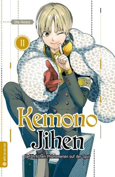 Kemono Jihen – Gefährlichen Phänomenen auf der Spur, Band 11