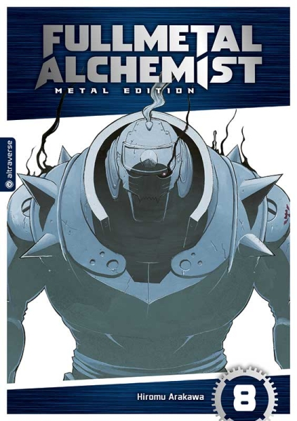 Fullmetal Alchemist Metal Edition, Band 08