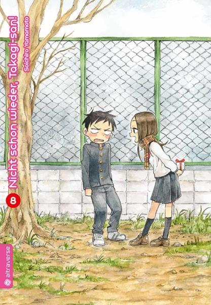 Nicht schon wieder, Takagi-san!, Band 08