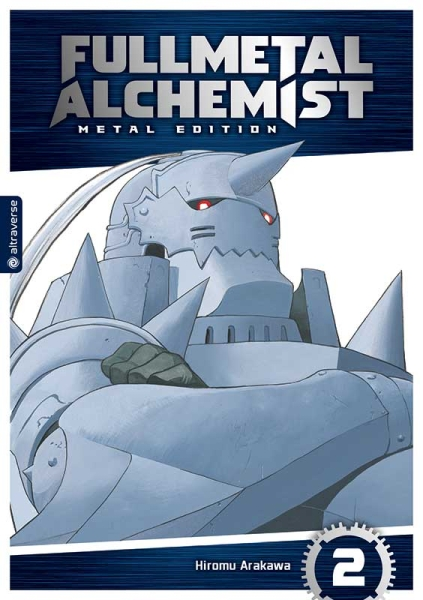 Fullmetal Alchemist Metal Edition, Band 02