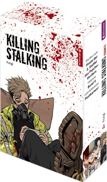 Killing Stalking – Season II, Band 04 mit Box