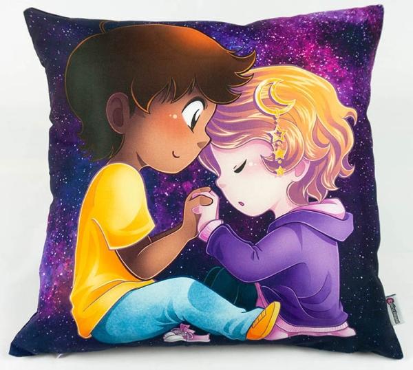 #plüschmond - Kissenhülle Liebe