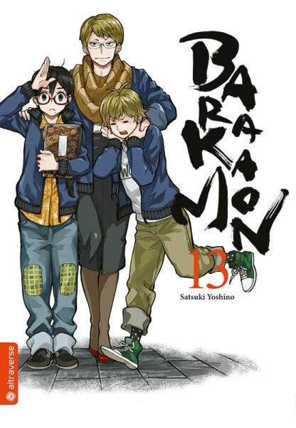 Barakamon, Band 13