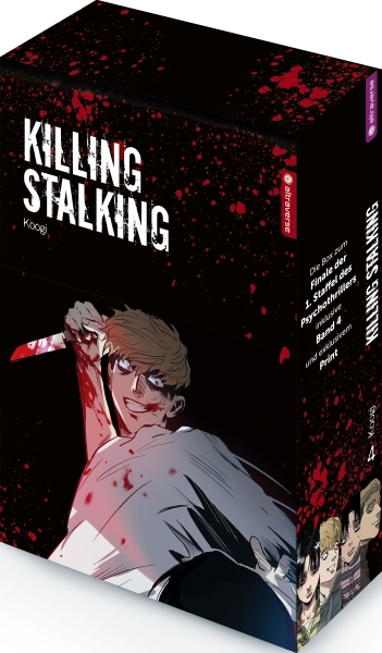 Killing Stalking, Band 04 mit Box
