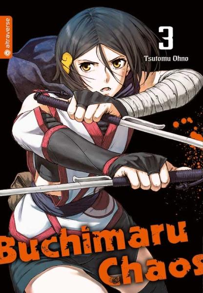 Buchimaru Chaos, Band 03
