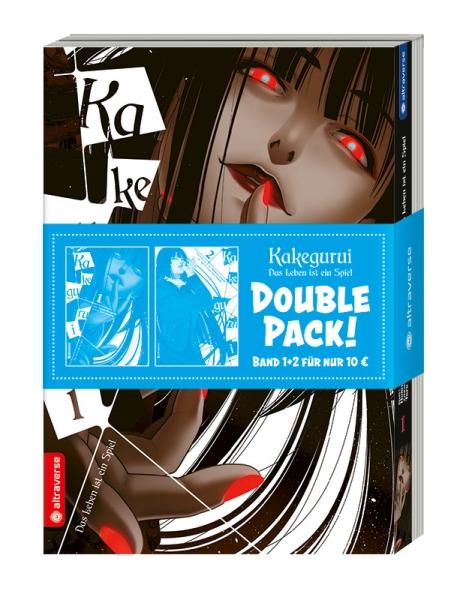 Kakegurui - Das Leben ist ein Spiel Double Pack, Band 01 & 02