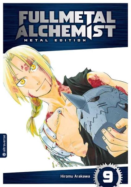 Fullmetal Alchemist Metal Edition, Band 09