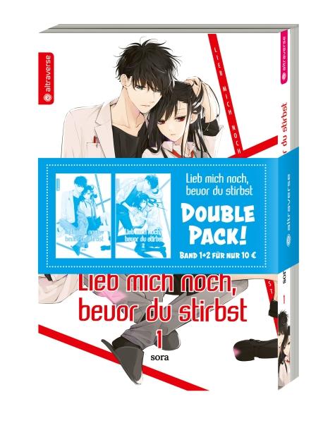 Lieb mich noch, bevor du stirbst Double Pack, Band 01 & 02