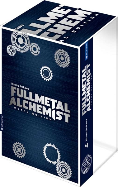 Fullmetal Alchemist Metal Edition, Band 04 mit Box