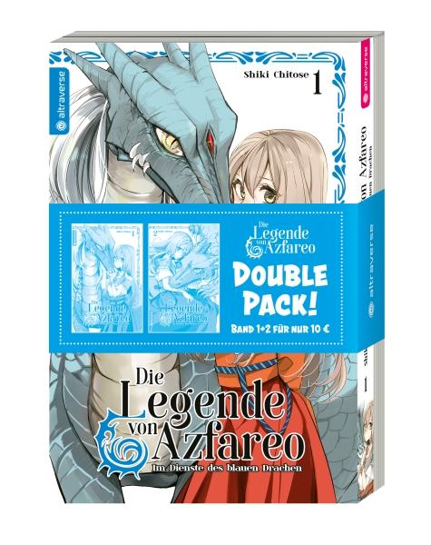 Die Legende von Azfareo – Im Dienste des blauen Drachen Double Pack, Band 01 & 02