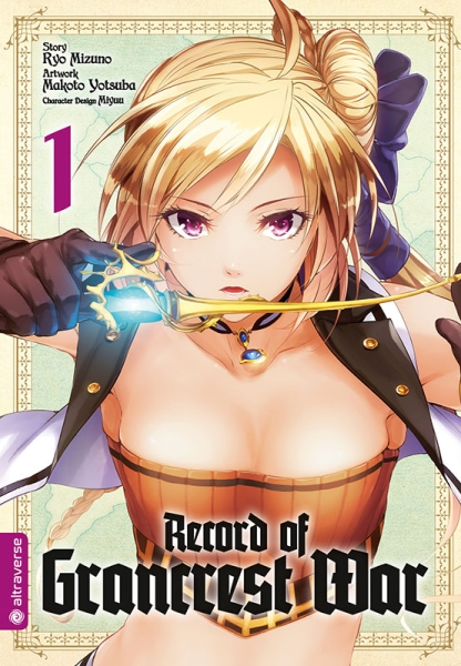 Record of Grancrest War, Band 01