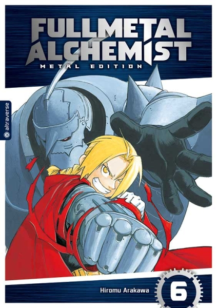 Fullmetal Alchemist Metal Edition, Band 06