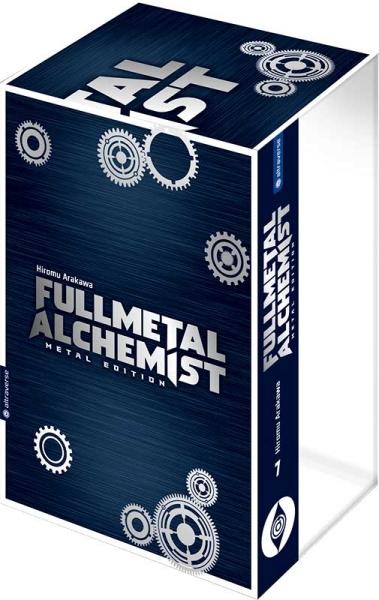 Fullmetal Alchemist Metal Edition, Band 07 mit Box