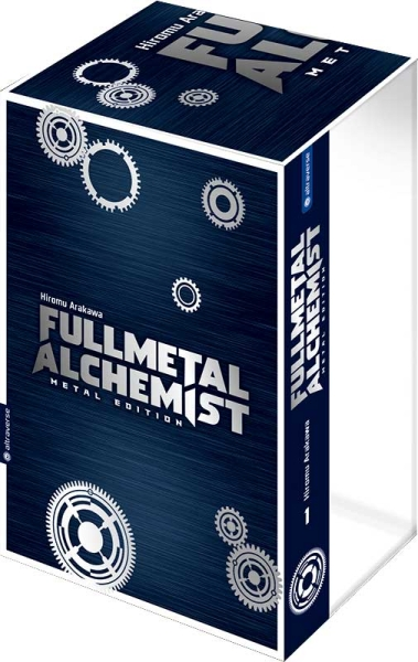 Fullmetal Alchemist Metal Edition, Band 01 mit Box