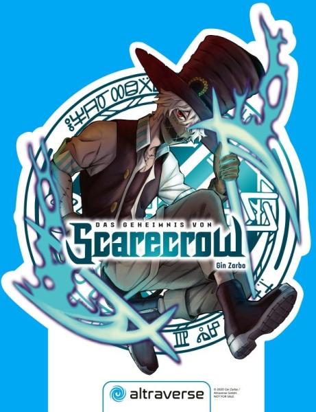 Das Geheimnis von Scarecrow Manga-Display (unsigniert)