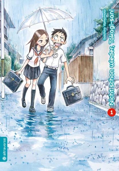 Nicht schon wieder, Takagi-san!, Band 01