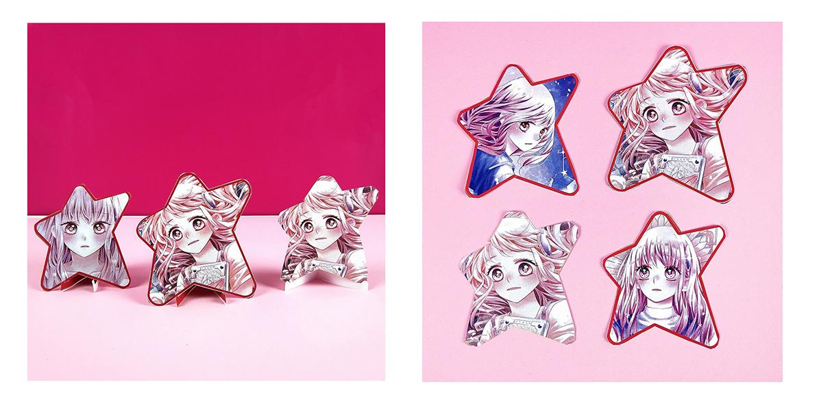Illustrationen-Shojo-Stars