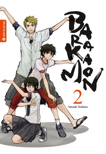 Barakamon, Band 02