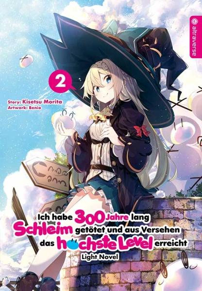 Ich habe 300 Jahre lang Schleim getötet ... Light Novel, Band 02