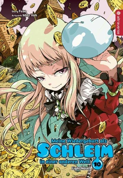 Meine Wiedergeburt als Schleim in einer anderen Welt Light Novel, Band 10