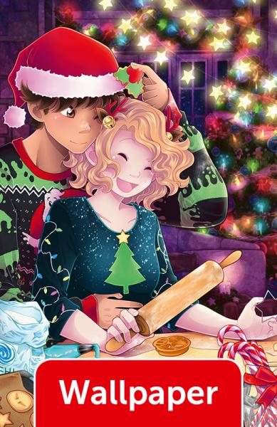 #plüschmond Weihnachten, Wallpaper