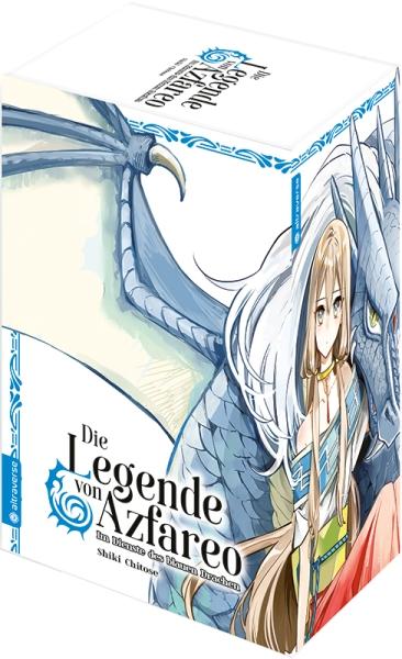Die Legende von Azfareo – Im Dienste des blauen Drachen, Band 09 mit Box