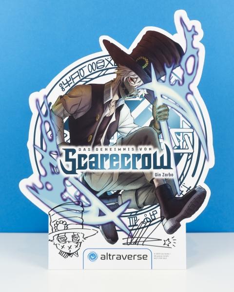 Das Geheimnis von Scarecrow Manga-Display (signiert)